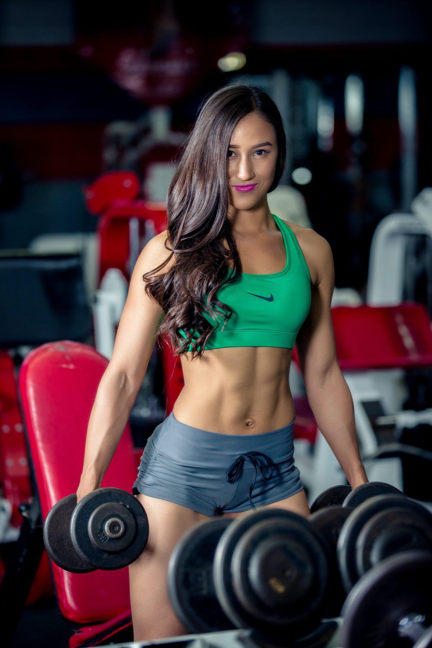 sexy beim fitness